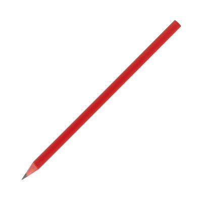 Recycled CD Case Pencil - Red