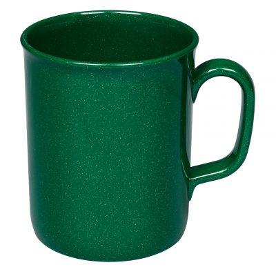 Recycled Plastic 275ml Theo Mug - Green
