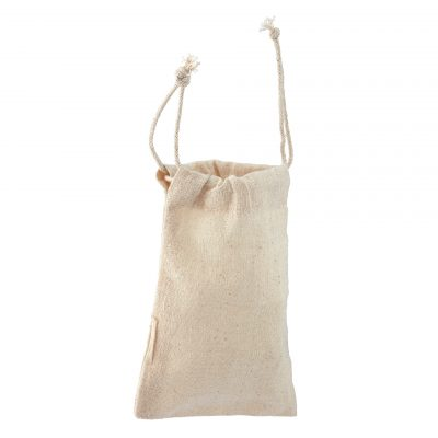 Cotton Tiny Drawstring Pouch