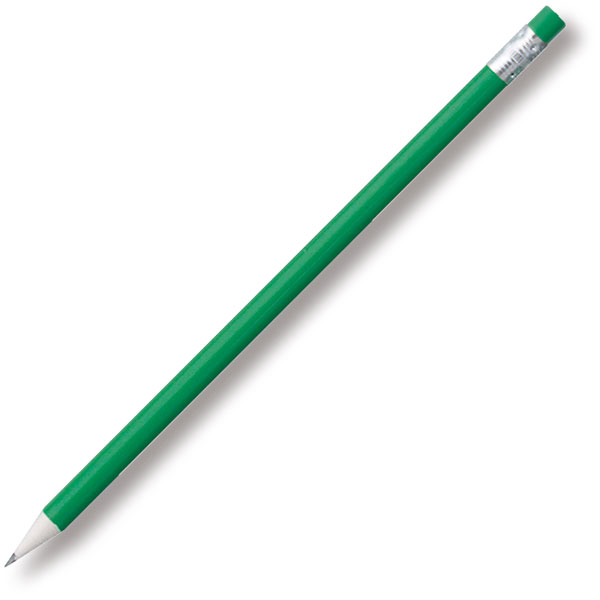 Recycled Newspaper Pencil - Green