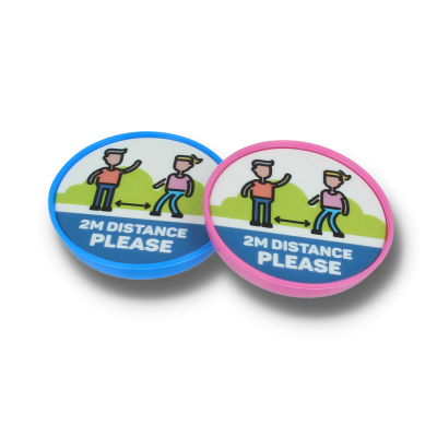 Recycled Pop Badge