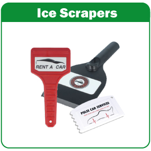 Recycled Ice Scrapers Image