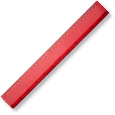 BG 30cm Ruler - Red